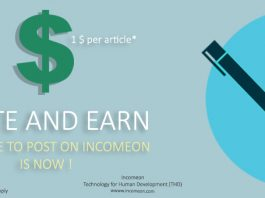 Write article on socioon and earn money