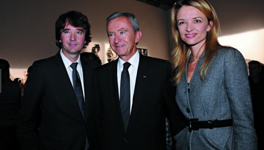 Bernard Arnault & family