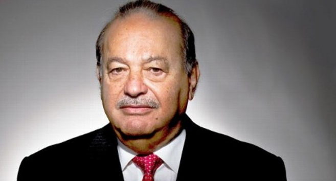 Carlos Slim Helu and family