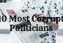 10 Most Corrupt Politicians