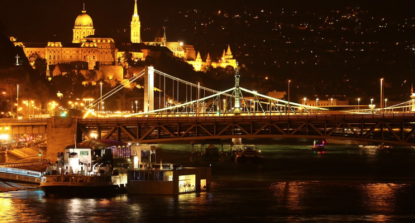 Budapest most beautiful city in europe