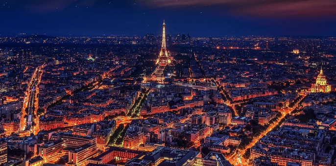 Paris most beautiful city in europe