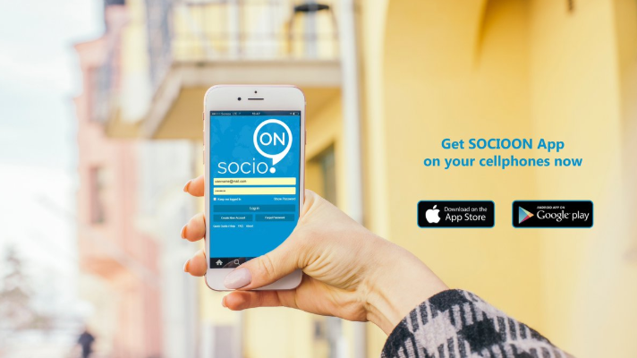 Download socioON Apps