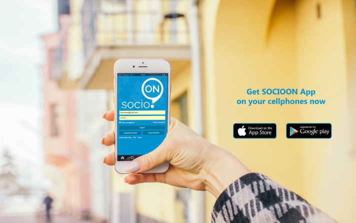 Download socioON Apps