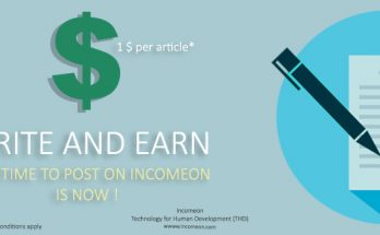write an article on socioon and earn money