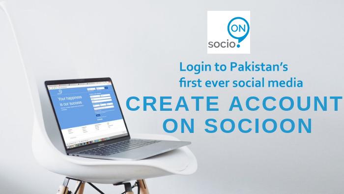 How to Create Account on Socioon
