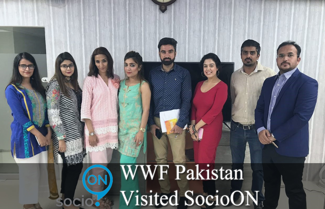 WWF Pakistan visited SocioON