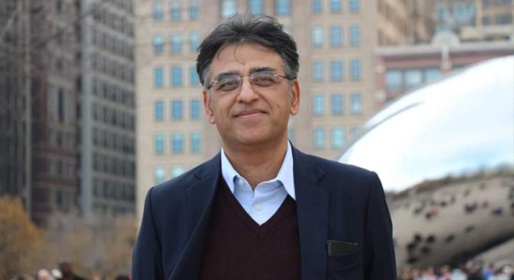Asad Umar Finance Minister of Pakistan