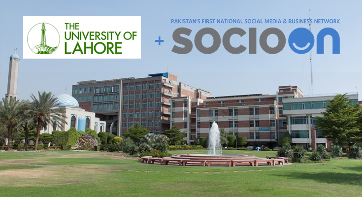 SocioOn and University of Lahore Collaboration