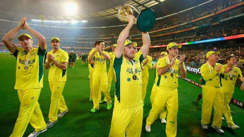 Australia are the current holders of the ICC Cricket World Cup