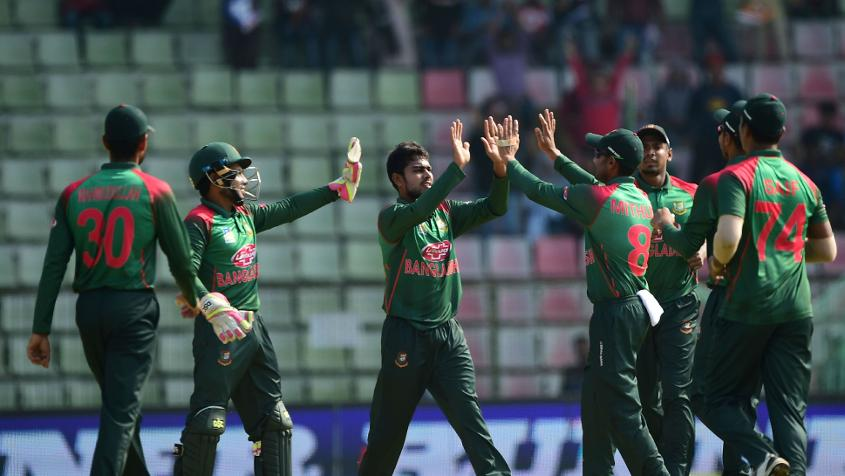 Bangladesh won the ODI series