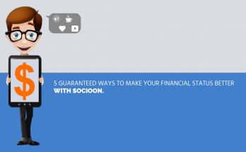 ways to make financial status better with socioon