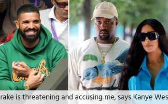 kanye west threatening by drake