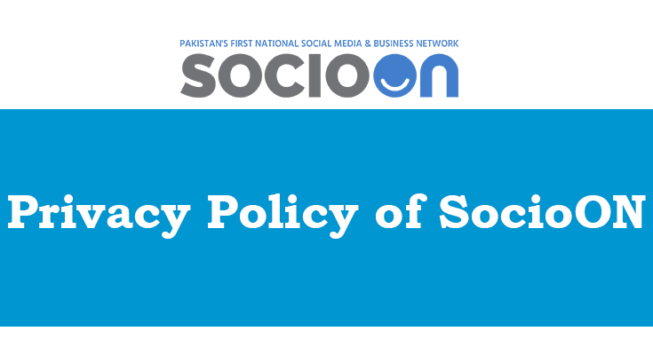 Privacy Policy of SocioON