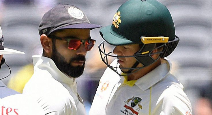 Virat Kohli's sledging war with Tim Paine