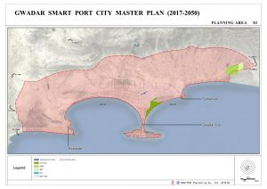 Gwadar New Master planning area