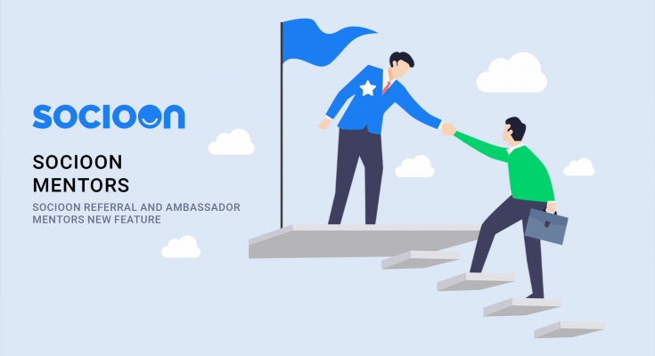 SocioOn is offering volunteer feature for Referrals